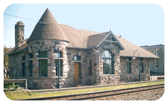 Grass Lake MI Michigan Central Depot