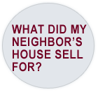 What did my neighbor's home sell for?